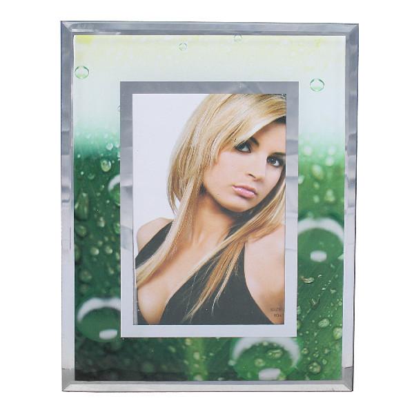 Фоторамка из стекла цветная 10х15 см 8-133 купить оптом и в розницу