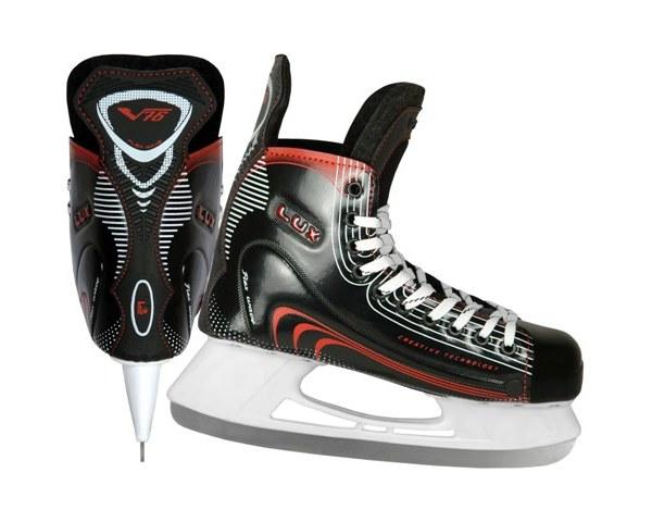 Коньки хоккейные V76 ″LUX PRO″ р-р 43 купить оптом и в розницу