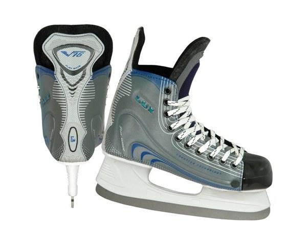 Коньки хоккейные V76 ″ LUX″ р-р 43 купить оптом и в розницу