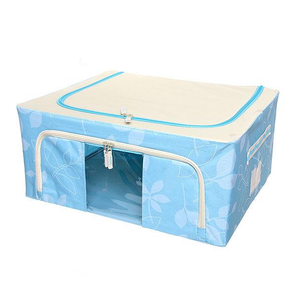 Коробка д/хранения вещей 50*40*22 44л. синий E купить оптом и в розницу