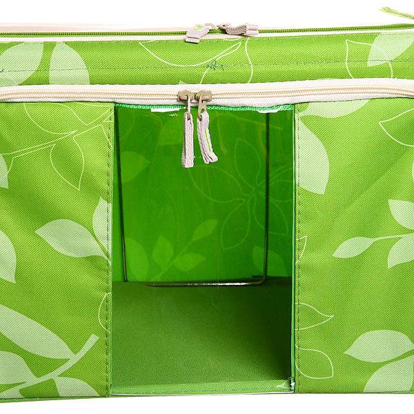 Коробка для хранения вещей 50*40*28 55л. зеленый A купить оптом и в розницу