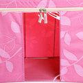 Коробка д/хранения вещей 50*40*33 66л. розовый F купить оптом и в розницу