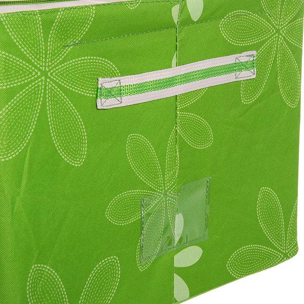 Коробка д/хранения вещей 50*40*28 55л. зеленый A2 купить оптом и в розницу
