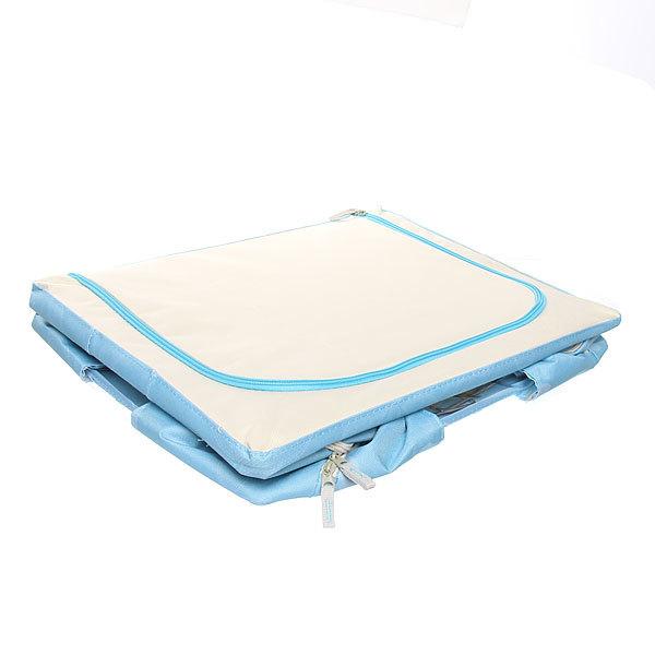 Коробка для хранения вещей 50*40*28 55л. синий E2 купить оптом и в розницу