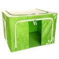 Коробка д/хранения вещей 50*40*33 66л. зеленый A2 купить оптом и в розницу