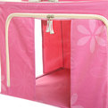 Коробка д/хранения вещей 50*40*33 66л. розовый F2 купить оптом и в розницу