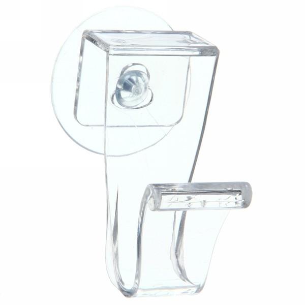 Крючек для полотенца на прососке, прозрачный купить оптом и в розницу