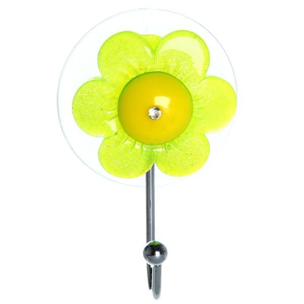 Крючок на присоске Цветочек XH001 купить оптом и в розницу