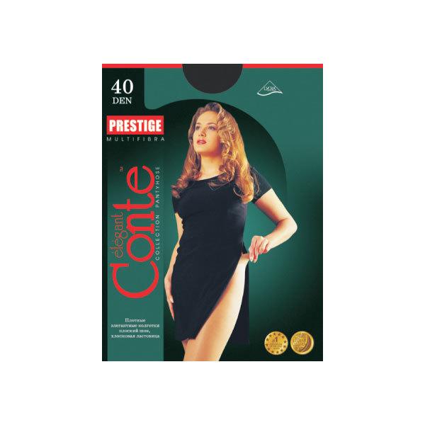 Колготки женские Conte Prestige 40,р.2, nero купить оптом и в розницу