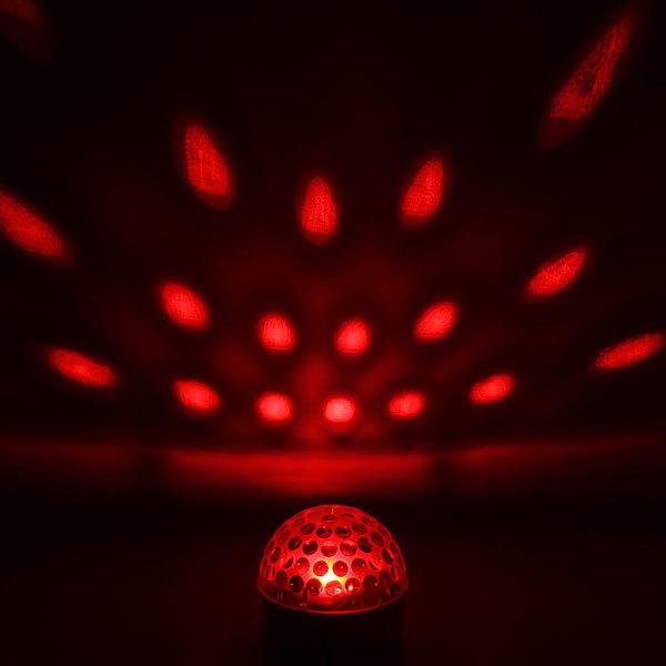 Светодиодный диско шар,19см″Магический шар″ RGB(красный, зеленый, синий), mp3 купить оптом и в розницу