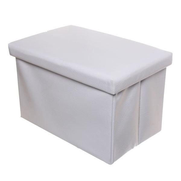 Система хранения пуф 49х31х31см. SM-4931 белый купить оптом и в розницу