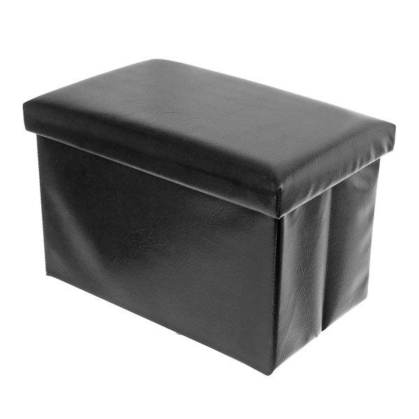 Система хранения пуф 49х31х31см. SM-4931 черный купить оптом и в розницу