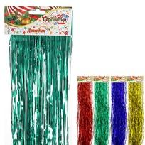 Дождик 2м ″Классика″ цветной тонкий купить оптом и в розницу