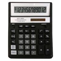 Калькулятор CITIZEN настольный 12раз черный 203,2*158*31мм купить оптом и в розницу