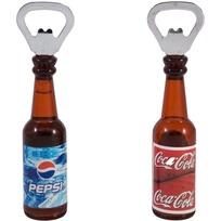 Открывалка в форме бутылки, с магнитом (14*2.6), микс (1/480) купить оптом и в розницу
