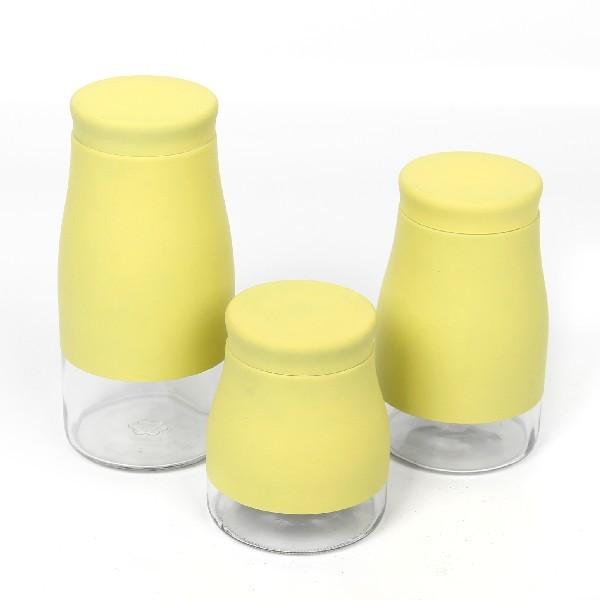 Банка для продуктов стеклянная в наборе 3 шт 2000,1500,1000мл 1-5 купить оптом и в розницу