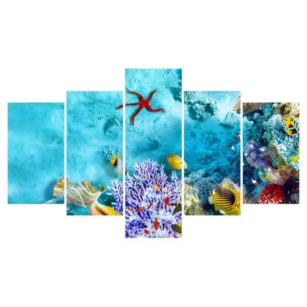 Картина модульная полиптих 75*130 Море диз.6 105-02 купить оптом и в розницу