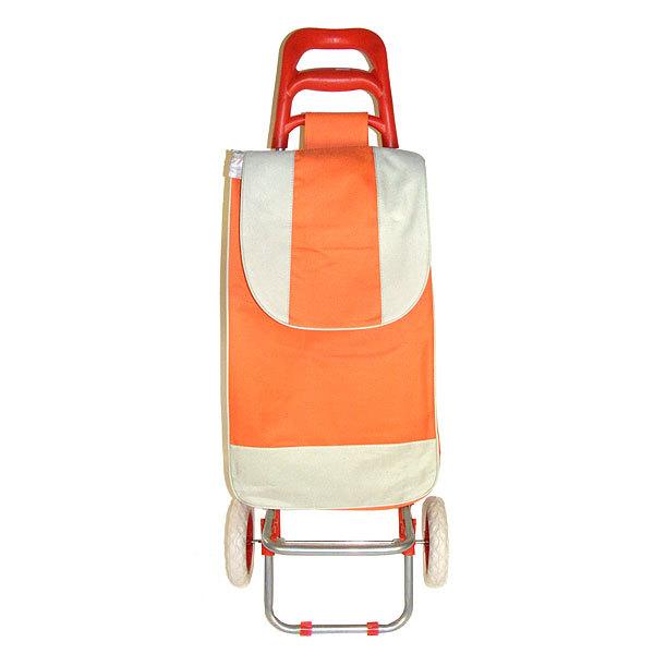 Тележка хозяйственная с сумкой DC-307B цветная (97*36*31см, колеса 16см,грузоподъемность до 30 кг.) купить оптом и в розницу