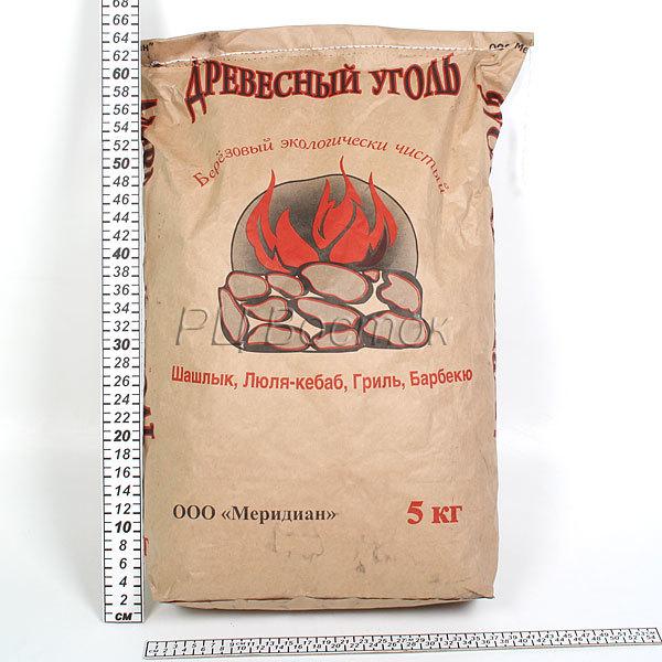 Уголь березовый 5 кг (К) купить оптом и в розницу