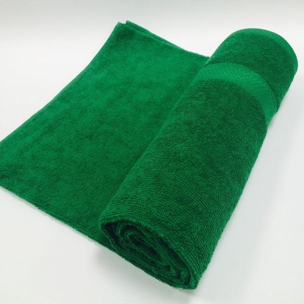 Полотенце махровое 50х90 цв.зеленый Марьины узоры купить оптом и в розницу