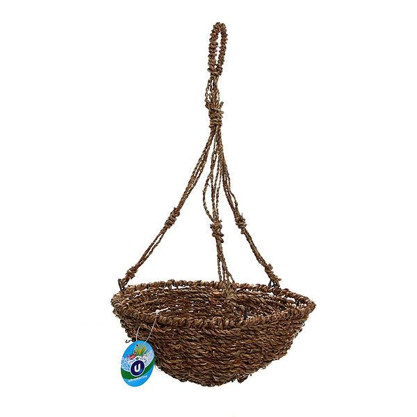 Кашпо для цветов садовое ″Плетеное подвесное″ 25х10см В-465 купить оптом и в розницу