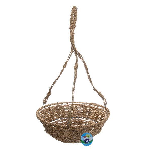 Кашпо для цветов садовое ″Плетеное подвесное″ 30х13см В-465 купить оптом и в розницу