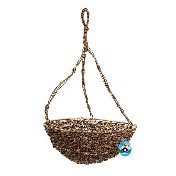 Кашпо для цветов садовое ″Плетеное подвесное″ 35х15см В-465 купить оптом и в розницу