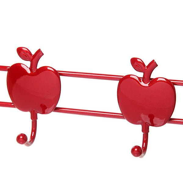 Вешалка надверная 5 крючков 47х23см G29-5M яблоко купить оптом и в розницу