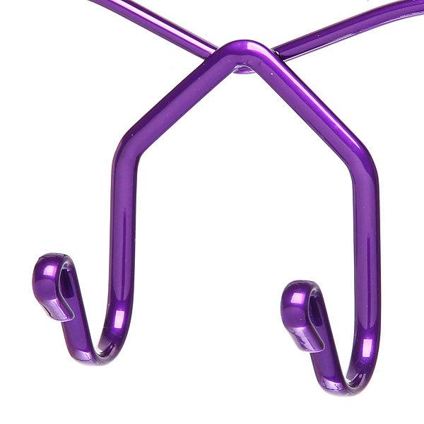 Вешалка надверная 8 крючков 27х36см HP142-C фиолетовая купить оптом и в розницу