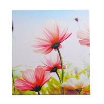 Картина объемная 32*24см ″Цветы″ стекло купить оптом и в розницу