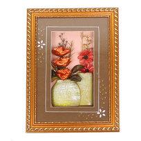 Картина объемная 29*40см ″Цветы″ стекло купить оптом и в розницу