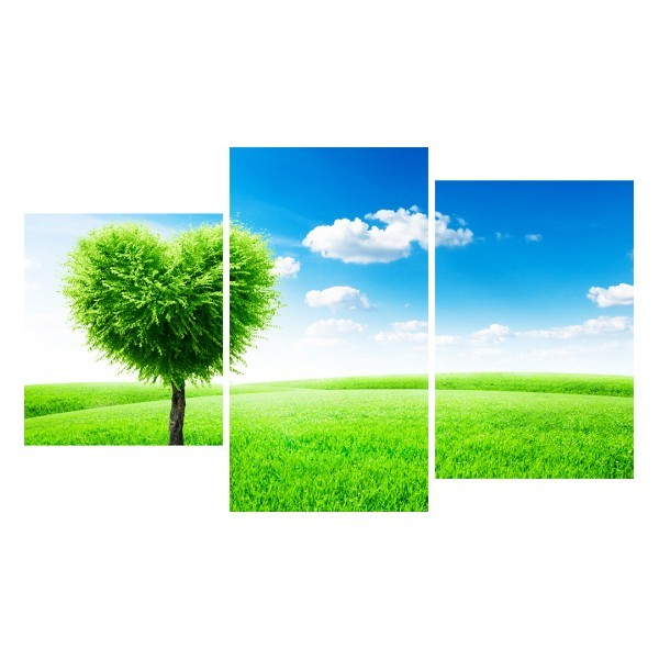Картина модульная триптих 55*96 Природа диз.20 57-01 купить оптом и в розницу
