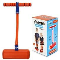 Moby-Jumper Тренажер для прыжков со звуком оранжевый 68552 купить оптом и в розницу