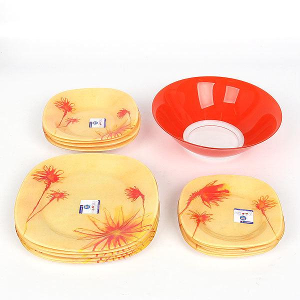 Набор столовой посуды 19 предметов САНРАЙЗ H9114 купить оптом и в розницу