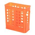 Подставка для столовых приборов 14*14*7см пластиковая, 2 секции 1002 купить оптом и в розницу