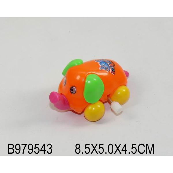 Игрушка заводная Слоник 8866-1 в пак. купить оптом и в розницу