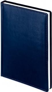 Ежедневник б/дат А5+ Альт 136л 145*205 Velvet синий navy,лин., тв.обл. купить оптом и в розницу