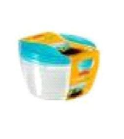 Набор контейнеров для СВЧ FRESH&GO Curver 3шт* 0,5л син./прозрачн. /*8 шт купить оптом и в розницу