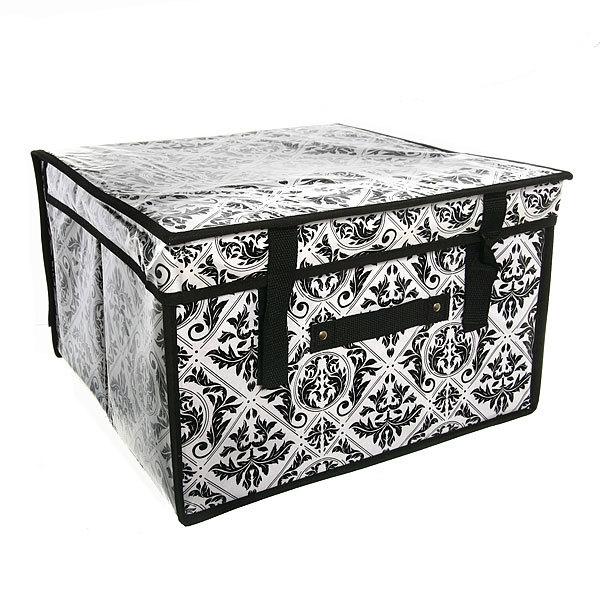 Коробка д/хранения вещей 40*40*25 FH064-3 купить оптом и в розницу