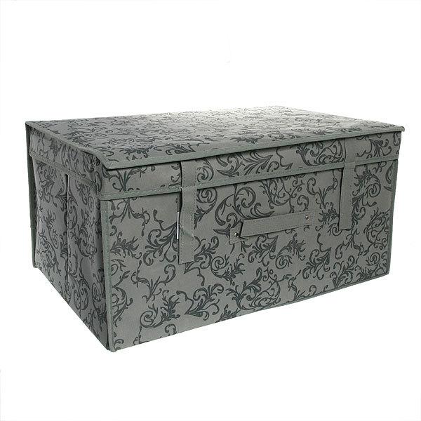 Коробка д/хранения вещей 60*40*30 завитки купить оптом и в розницу