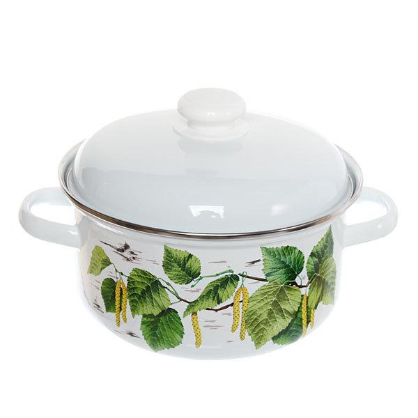 Набор посуды эмалированной 2 предмета ″Березка″ (2л, 3л) купить оптом и в розницу