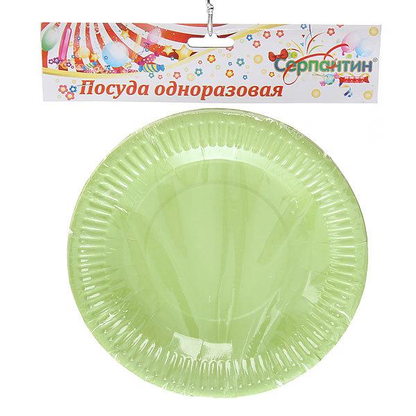 Тарелка бумажная 18 см в наборе 10 шт ″Радуга″ купить оптом и в розницу
