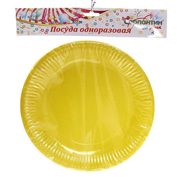 Тарелка бумажная 23 см в наборе 10 шт ″Радуга″ купить оптом и в розницу