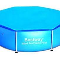Чехол для круглых каркасных бассейнов 244 см Bestway (58301) купить оптом и в розницу