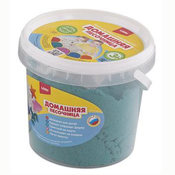 Набор ДТ Домашняя песочница Изумрудный песок 1 кг Дп-011 Lori купить оптом и в розницу
