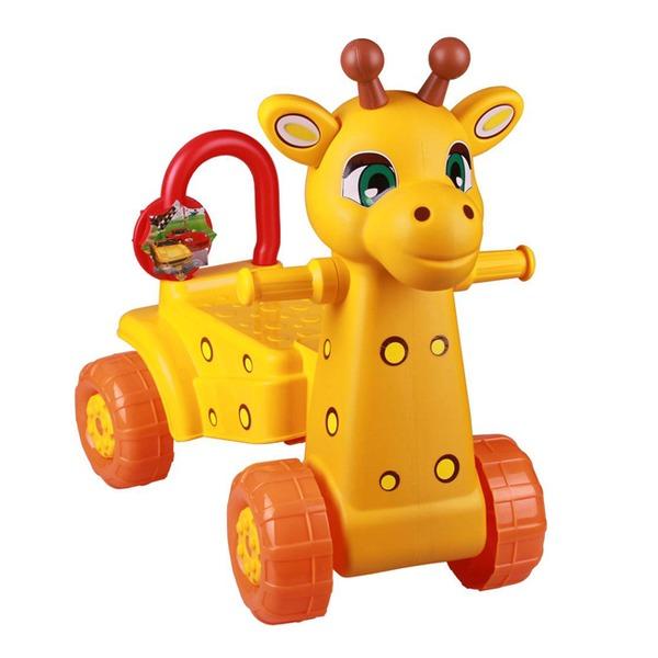 Каталка Жираф желт. М3892 купить оптом и в розницу
