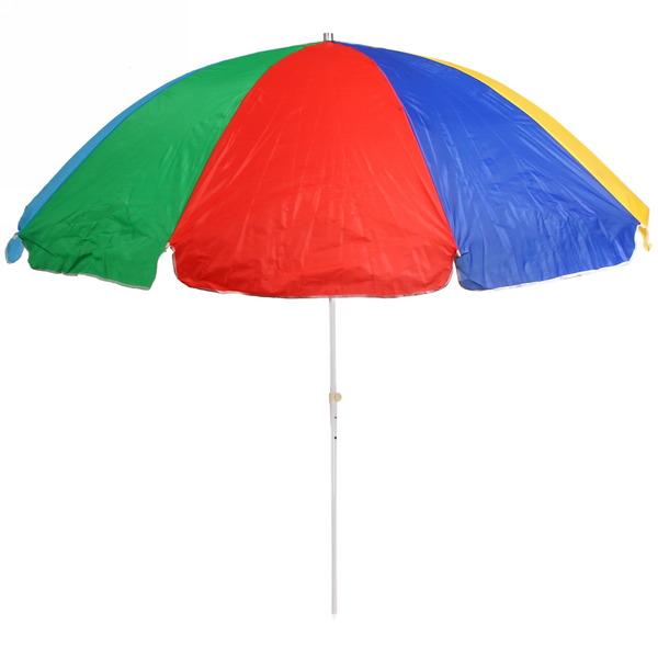 Зонт пляжный, D=230см, H=240см купить оптом и в розницу