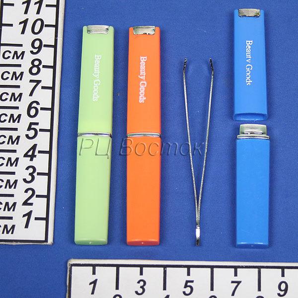 Пинцет с прямыми концами, в пакете ″Ультра″, цвет серебро 8,5см купить оптом и в розницу
