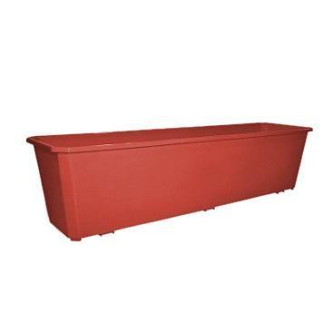 Ящик балконный 60 см терракотовый купить оптом и в розницу