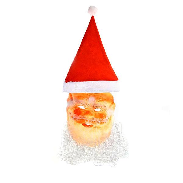 Маска карнавальная ″Деда Мороза″ 50*25 см купить оптом и в розницу